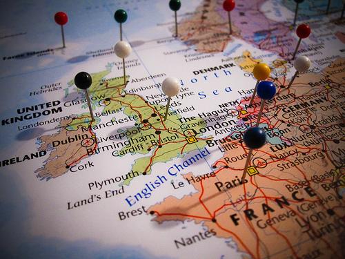 Select destinations