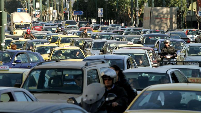 In summer traffic
