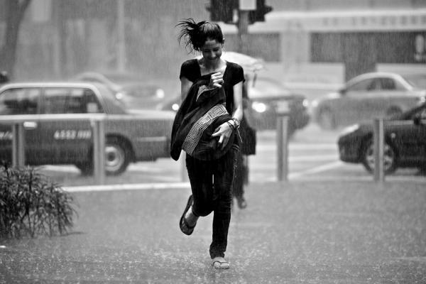 Continuous rain