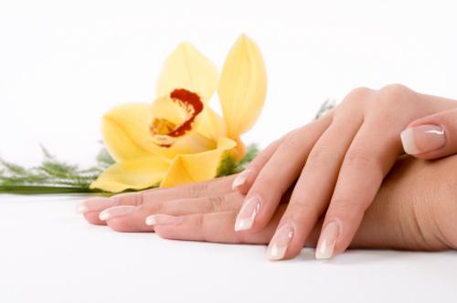 Healthy beautiful nails