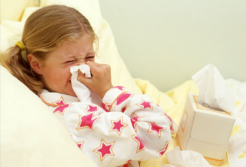 Colds in children