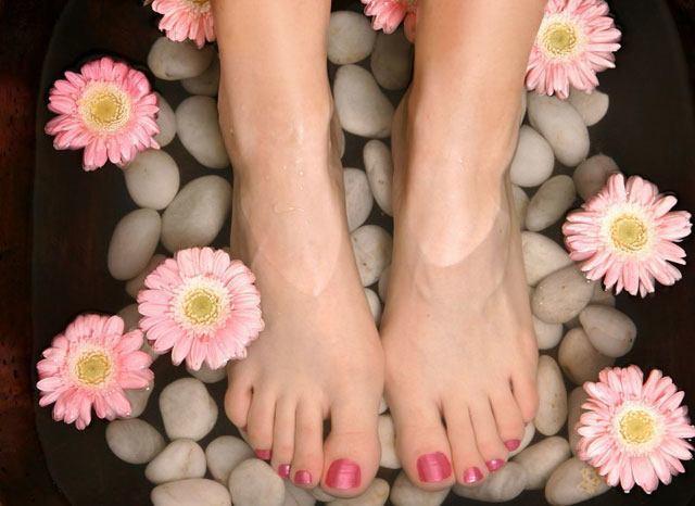 Groomed feet