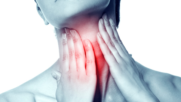 Treat sore throat with simple means