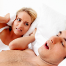 Stop snoring before the partners