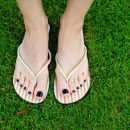 Beautiful feet for sandals time!